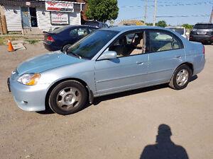 2003 Honda Civic LOW KMS 161KM HYBIRD ☆ PRICED TO SELL ☆ Sedan