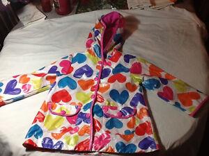 Size 4T Carter's raincoat