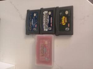 Gameboy Video Games (Pokemon)