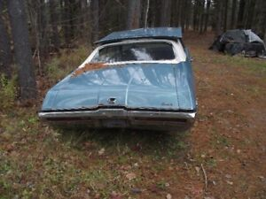 Parting out 69 Buick GS