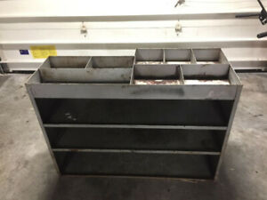 SOLID WELDED METAL SHELF - PRICE DROP