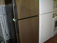 GE STAINLESS STEEL TOP-MOUNT REFRIGERATOR