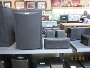 POLK AUDIO RM 750 5.1 SURROUND SYSTEM