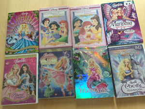 DVD Barbie et princesses