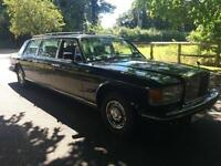 ROLLS-ROYCE LIMO SILVER SPIRIT SPUR LIMOUSINE 55K LOW MILES! Bentley