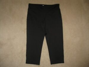 Girl's Old Navy Active Wear Black Capri's