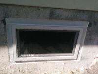 Basement Egress Windows Installed in Wood Foundations
