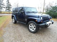 2013 Jeep Wrangler ( SAHARA UNLIMITED ) SUV, Crossover