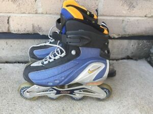Like New Nike Air Max Roller Blades - Women's Size 9