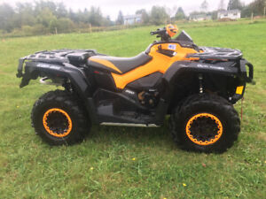 LIKE NEW 2016 CAN AM 850 OUTLANDER MAX...WE FINANCE