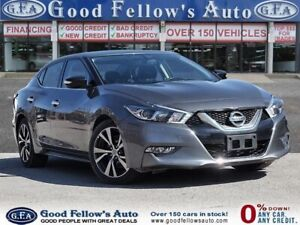 2017 Nissan Maxima SV MODEL, LEATHER SEATS, NAVI, REARVIEW CAMER