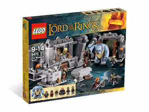 LEGO LOTR LORD OF THE RINGS 9473 THE MINES OF MORIA NEW SEALED
