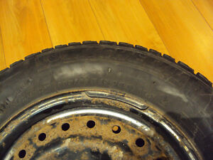 4x Michelin X-Ice Winter Tires 205/65R15 on 4 rims West Island Greater Montréal image 3