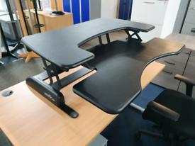 Used Vari height adjustable standing desk convertor Pro Plus 36