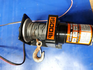 1500lb winch for sale