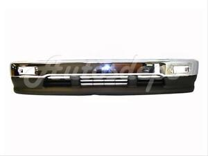 Bundle For 93-98 Toyota T-100 Pickup Front Bumper Chrome Face Bar Lower Valance