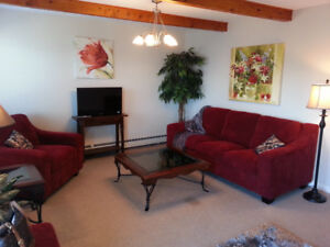 Furnished and Equipped Seaside suite - large view deck