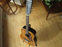 Vintage Kent 12 string acoustic guitar