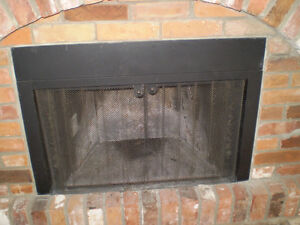 acorn olympic model 832 wood  fireplace