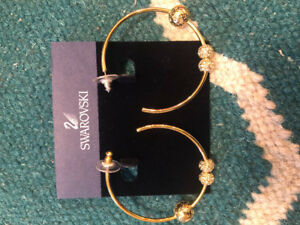 Swarovski Hoops Brand New
