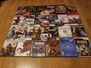 Variety Of Different Games For Only 2$ Each!!!!