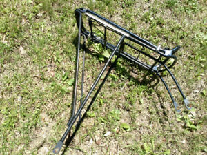 Bike rack (modified for bikes with suspension)