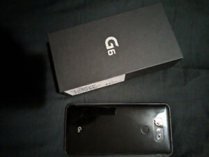 2 weeks old LG g6 blk 32gb