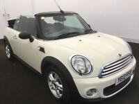 12 MINI ONE CONVERTIBLE 1.6 2 DOOR *PEPPER PACK*WHITE*