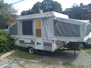 Looking to trade Pop up camper for van or pickup