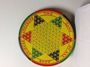 Chinese Checkers Metal Board Game