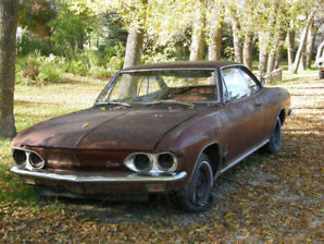 1966 Corvair Monza 2 door automatic