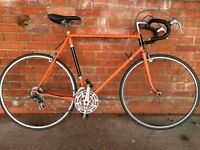 VINTAGE FRENCH ROAD RACING BIKE IDEAL STUDENT COMMUTER BICYCLE MAVIC MA2 700c WHEELS