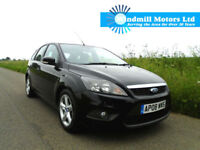 FORD FOCUS 1.6 TDCI ZETEC 5DR BLACK - £30 ROAD TAX - ECONOMICAL