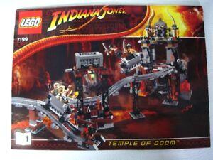 Lego Indiana Jones The temple of doom, set 7199  100% complet