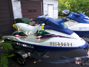 96 seadoo gsx 787 twin.sell or trade for 3 seater