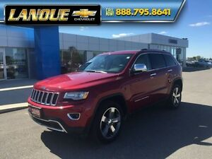"2015 Jeep Grand Cherokee Limited  PANO SUNROOF, DUEL DVD, 20"" WH Windsor Region Ontario image 2"