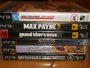 PS3 Games Located in Amherst