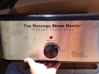 64 piece hot stones and heater