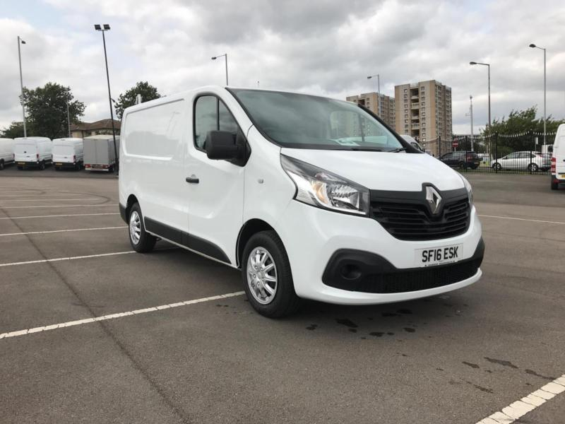 ed082b148145ac Renault Trafic Sl27dci 115 Business+ Van Euro 6 DIESEL MANUAL WHITE (2016)