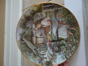 Brand new in box decorative handpainted plate collectible London Ontario image 7