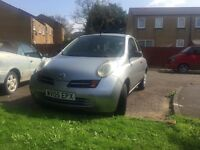 Nissan Micra 2005 Petrol Automatic 1.2