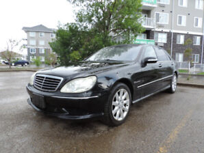 2003 Mercedes S55 AMG 5.5L V8 Supercharged S-Class