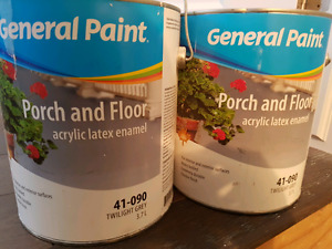 2 gallons porch and floor paint
