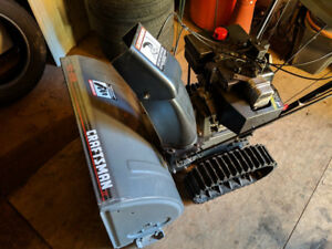 Craftsman track drive snowblower