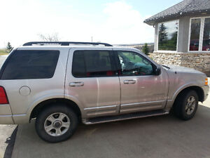 2002 Ford Explorer Limited will trade