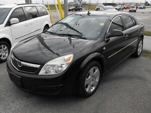 2008 AURA XE SEDAN  102,000 KMS  LOADED  SUNROOF  LOCAL TRADE IN