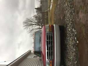1994 Ford F-150 Red Pickup Truck