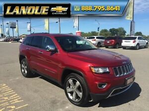 "2015 Jeep Grand Cherokee Limited  PANO SUNROOF, DUEL DVD, 20"" WH Windsor Region Ontario image 10"
