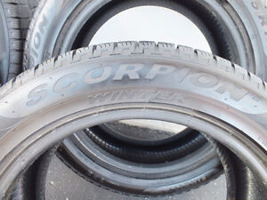 Pirelli Scorpion winter tires 225/55/R19 99H (almost new) Peterborough Peterborough Area image 2