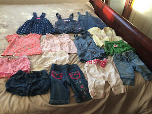 Baby girl assorted clothes 6M-2T